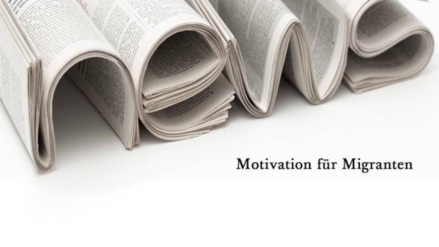 Motivation für Migranten